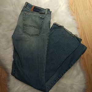 Lucky Brand Vintage 90s Jeans Distressed Dungarees